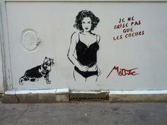 #streetart #misstic Miss.Tic