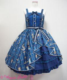 Angelic Pretty Astroレジメンフリルジャンパースカート