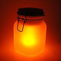 SUN JAR - Solarlicht - gelb