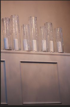 Beautiful Candle Arrangement for Wedding done by It's Your Party