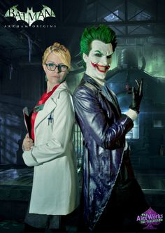 The dynamic duo? I don't think so! With @annevalmont Available as a print in www.cosplayalexworks.storenvy.com #costumedesign #joker #thejoker #theclownprinceofcrime #harleenquinzel #harleyquinn #harlequin #harleyquinncosplay #harleenfrancesquinzel #harleenquinzelcosplay #arkhamorigins #arkham #batman #batmanarkham #fanzago #alexworks