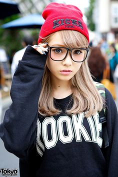 Casual. Pair hoodie with glasses Tween Fashion Winter 2014