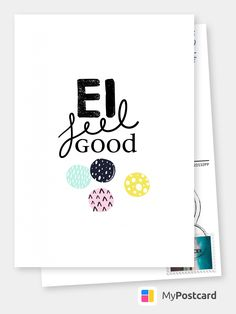 I feel good Happy Easter - Ostern Online Greeting Cards, Diy Presents, I Feel Good, Photo Postcards, Easter Crafts, Happy Easter, Hand Lettering, How To Memorize Things, Party