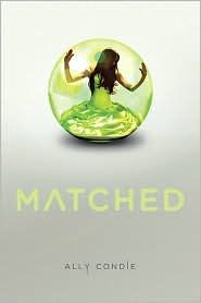 One of my favorite books. I love the YA fic genre, and dystopian novels in particular.  Ally Condie is an author to watch.  Her first national release, Matched, kept me engrossed. I love this story, and can't wait for the rest of the series.