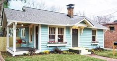 Atlanta Designer Gives Tiny House New Life in Living Color - Tiny Houses