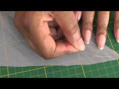 Sewing a Curly Hem Using Fishing Line.  Using fishing line to 'curl' a hemline is an effective way to add bounce, movement and volume.  Don't be put off with the technical issues of sewing fishing line to a hem. Believe me, it's an easy, straight forward process.  Let me show you in this FREE fashion sewing video tutorial, Only at FashionSewingBlogTV - www.youtube.com/...