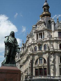 Stanbeeld van David Teniers, Antwerp, Belgium