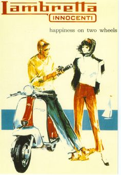 29 Best Vintage Scooter Posters images | Vespa, Vespa