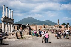 Pompeii ruins & mount Vesuvius by Iosu Escobar Perez on 500px