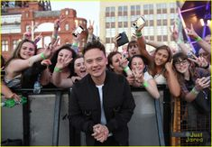 Conor Maynard Drops New Song 'Catch Me Here' with Drumsound & Bassline Smith: Photo Conor Maynard snaps some cool selfies with fans at the 2016 Blackpool illuminations Switch Concert on Friday (September in Cheshire, England. Aston Merrygold, Buttercream Squad, Jack Maynard, Joe Sugg, Blackpool, Celebs, Celebrities, News Songs, Youtubers