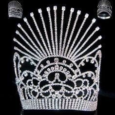 Beauty Pageant Rhinestone Crown Tiara