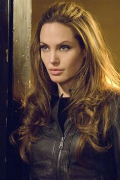 Angelina Jolie's hair in Wanted