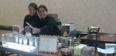 Our baristas detoxing a crowd with our herbal zen tea bar www.espressoeventsorlando.com