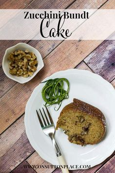 Zucchini Bundt Cake | A Recipe from On Sutton Place