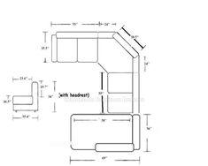 Standard Furniture Dimensions Metric Great Home