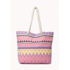 Zigzag Beach Bag