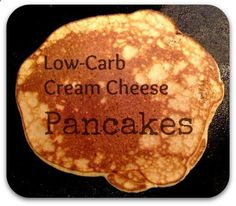 Low-Carb Cream Cheese Pancakes | Nutty About Health