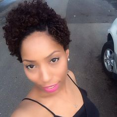 @bookshasadychelle @kanaturalshaircare  CREAMYCURL throughout- 2 strand twisted the top of my hair then set my hair on White permrods and fingercoiled the sides and back. #hair2mesmerize #naturalhair #healthyhair