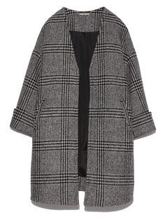 バックボリュームコート(ウールコート)|Mila Owen(ミラ オーウェン)|ファッション通販|ウサギオンライン公式通販サイト