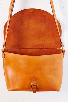 Artemis Basic Leather Shoulder Bag - Urban Outfitters