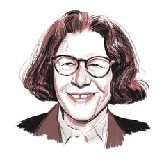 """The humorist and social commentator says her ideal literary dinner party is one that nobody is invited to: """"My idea of a great literary dinner party is Fran, eating alone, reading a book."""""""