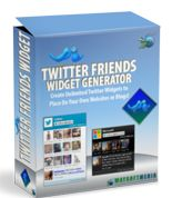 Twitter Friends Widget Comes with Master Resale Rights