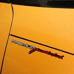 High Quality Hyundai Veloster Slim Emblem Veloster slogan car emblem sticker #Detailpart