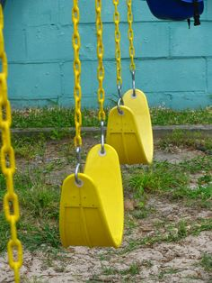 yellow swings by zippythesimshead My Favorite Color, My Favorite Things, Ichimatsu, Happy Colors, True Colors, To Infinity And Beyond, Mellow Yellow, Color Yellow, Shades Of Yellow