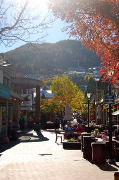 Queenstown, New Zealand   ...  reminds me of Banff, Alberta ...  stayed here for a couple of nights on our 1995 visit
