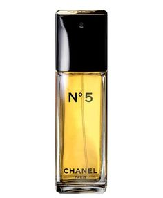 Chanel No 5 Eau de Toilette by Chanel is a Floral Aldehyde fragrance, and one of the most iconic fragrances in the world. Top notes are neroli, ylang-ylang, bergamot, amalfi lemon and aldehydes; middle notes are iris, jasmine, orris root, rose and lily-of-the-valley; base notes are vetiver, musk, sandalwood, patchouli, oak moss, amber, vanille and civetta. - Fragrantica