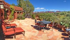 Relax and enjoy the views from morning to night. Silver Box Sedona, Sedona's premier vacation home, sleeps up to 8 but makes a nice romantic getaway for 2. Call 800-279-1945 for rates and dates. www.redrockrealty.net/sbs.html  See You Soon!