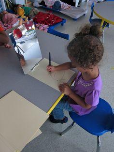 Pondering Preschool: How do three year olds write?