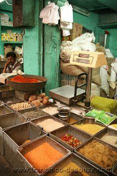 Spice wallah . Jodhpur, Rajasthan