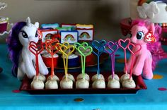 Rainbow Dash / My Little Pony Birthday Party Ideas | Photo 7 of 46 | Catch My Party