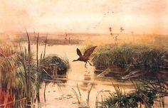 Kurka wodna - Józef Chełmoński (1894)
