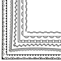 borders FREE Page Borders and Frames Free Boarders, Page Borders Free, Boarders And Frames, Page Borders Design, Free Frames And Borders, Simple Borders, Doodle Borders, Borders For Paper, Drawing Borders