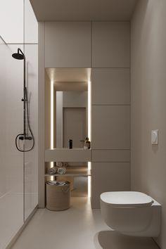 Home Room Design, Dream Home Design, House Design, Bathroom Design Inspiration, Bad Inspiration, Bathroom Design Luxury, Modern Bathroom Design, Minimalist Bathroom Design, Toilet Design