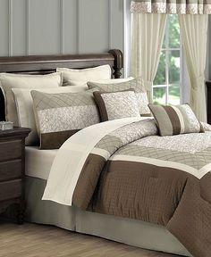 Acadia 24 Piece Queen Comforter Set - Sale Bed in a Bag - Bed & Bath - Macy's
