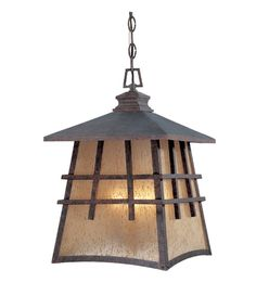 "View the Designers Fountain 30724-MP 4 Light 12"" Hanging Lantern from the Oak Park Collection at LightingDirect.com."