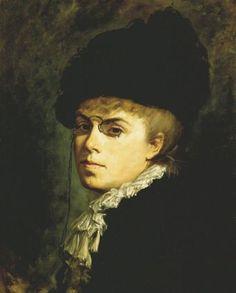Marie Bashkirtseff - Portrait de Calire Canrobert - (www.bashkirtseff.com.ar)