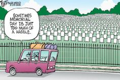 cartoons about memorial day