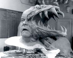 Behind the scenes of John Carpenter's film, The 'Thing,' Horror Show, Horror Films, Horror Art, Real Horror, The Thing 1982, Who Goes There, Dario Argento, Movie Makeup, Makeup Art