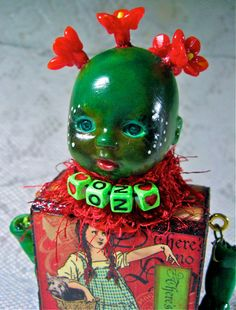 Wizard of Oz creepster...I know...this is kinda creepy, definitely not for everyone, but it just grabs me!