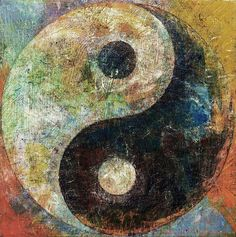 Choose your favorite yin yang paintings from millions of available designs. All yin yang paintings ship within 48 hours and include a money-back guarantee. Yin Yang Art, Yin And Yang, Yin Yang Balance, Yin Yang Tattoos, Foto Transfer, Religious Paintings, Taoism, Bear Art, Paintings For Sale