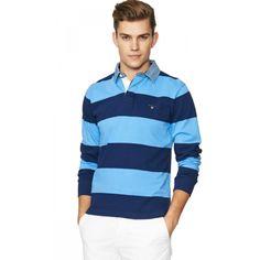 Rugbytröjor, snygga att kombinera med en skjorta eller en piké, perfekt plagg för de lite kyligare sommarkvällarna, Här är våra 3 favoriter!
