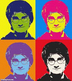 Harry Potter by Andy Warhol