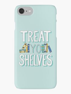 Treat Yo Shelves - Nerd Girl Book Chic tank, available as a phone case and other cool stuff on Redbubble.