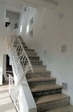 Painted Stairs by nrillustration, via Flickr