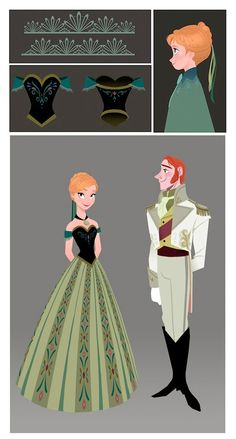 Frozen | Anna & Hans by Brittney Lee