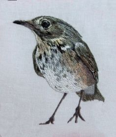 thrush needle painting embroidery original copy